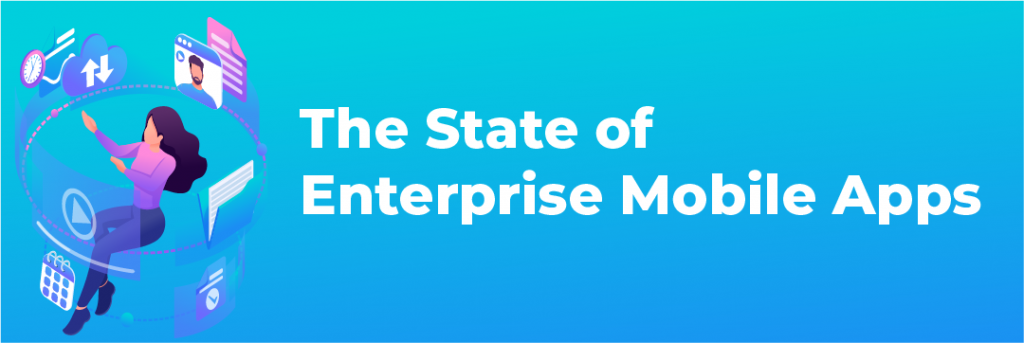 The State of Mobile App Stats Infographic Header