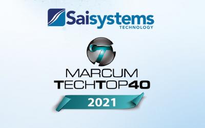 Saisystems International Named a Marcum Tech Top 40 Company