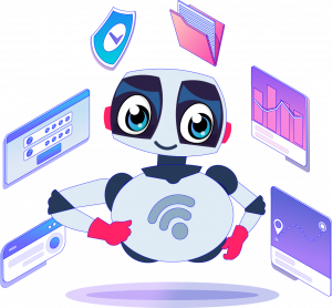 Saisystems Technology Friendly Bot with apps