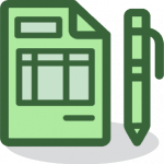 RPA in Business Admin Icon