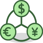 RPA in Financial Services Icon