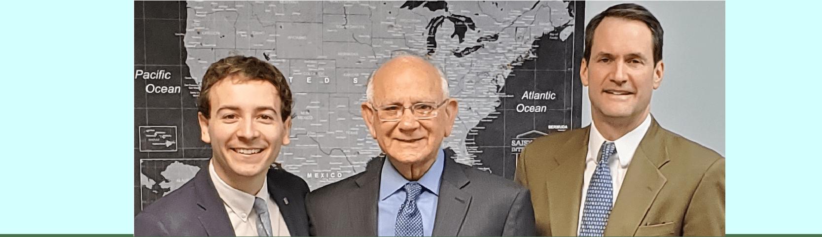 Dr Ramesh Wadhwani and Jim Himes